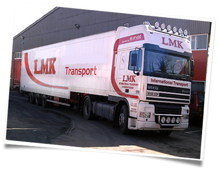 Road Haulage, Transport and Distribution Services, UK and Ireland | LMK Transport